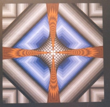 070 - Quadragon XX - Network  Reunioncross [40x40]